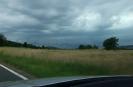 Gewitterfront formiert sich, fotografiert zwischen Pretzfeld und Kirchehrenbach  (Foto: smü)