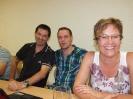 10. September 2011: Helferessen für Eigenleistung beim Neubau