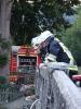 18. Juli 2011: Übung rund um die Wiesentmühle, Thema Wasserentnahme