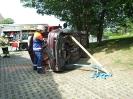 Training rund um einen Verkehrsunfall (Fotos: Tanja Müller)